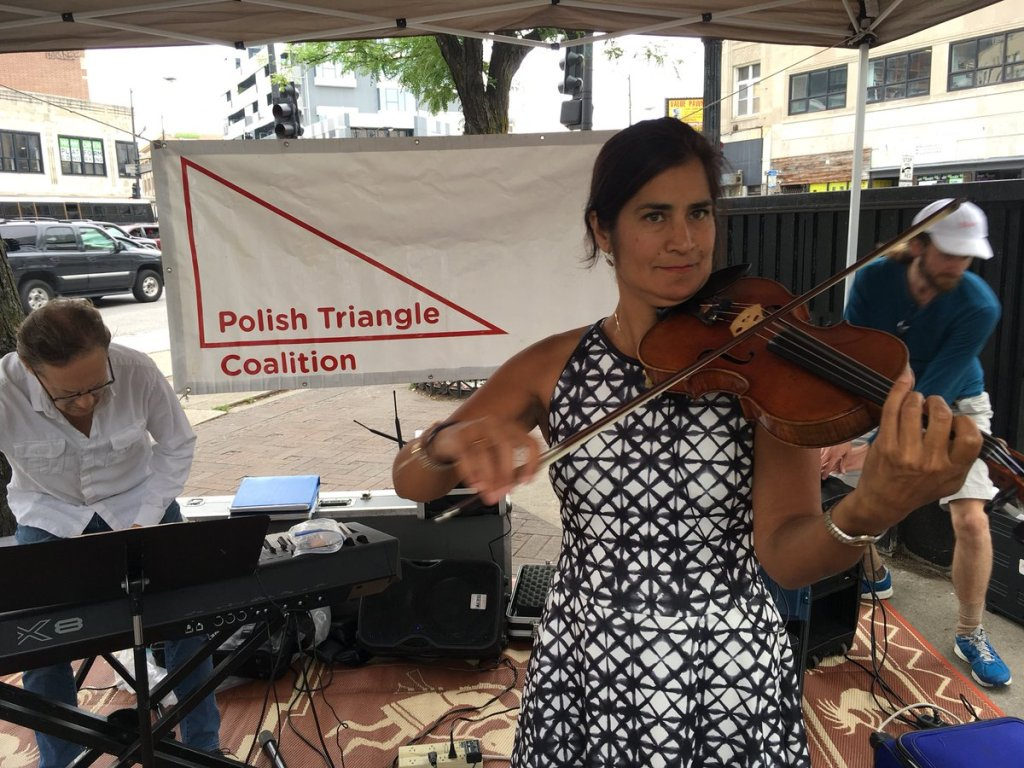Fiddler on the Triangle