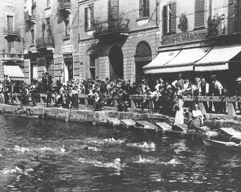Navigli di Milano prima della copertura