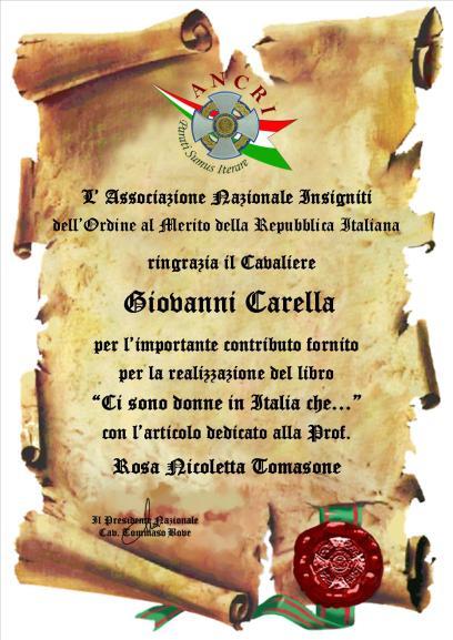 CARELLA Giovanni