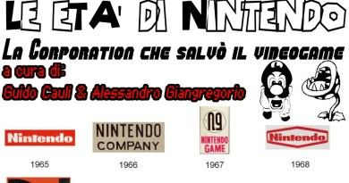 """Domenica 16 febbraio """"Le età di Nintendo: La Corporation che salvò il videogame""""."""