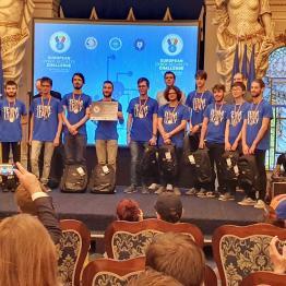 2019 la nazionale italiana di Cyberdefender a Bucarest