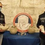Vendite sul web, i Carabinieri del TPC sequestrano reperti archeologici e documenti archivistici di eccezionale valore storico-culturale