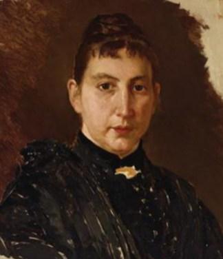 sua moglie Anna Simone (figlia dell'arch. Sante Simone)