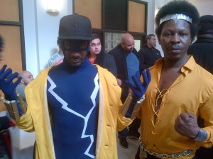 Static Shock and Luke Cage Hold it Down At BCBF 2014