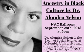 Alondra Nelson Lecture On September 28th
