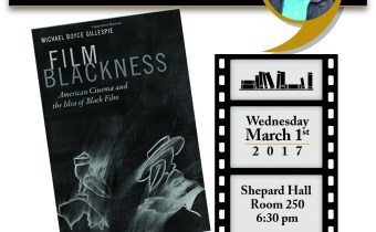 Film Blackness- Book Launch March 1st
