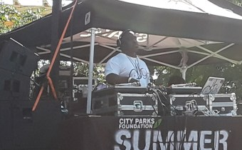 George Clinton and Main Source Rock Summer Stage in Queens