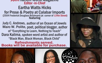 Prose and Poetry @ Calabar Imports July 15th!