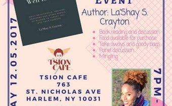LaShay Crayton Book signing December 5th