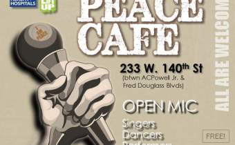 Peace Cafe Open Mic January 26th