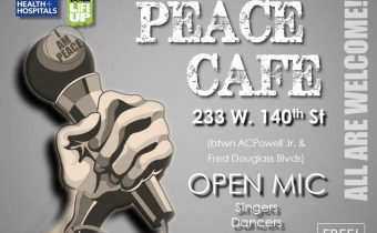 Peace Cafe Open Mic Friday April 20th!