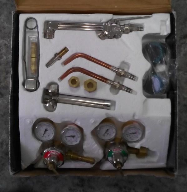 Газосварочный аппарат в сборе big 98