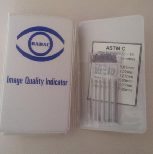 Эталон чувствительности проволочный ASTM 1C16