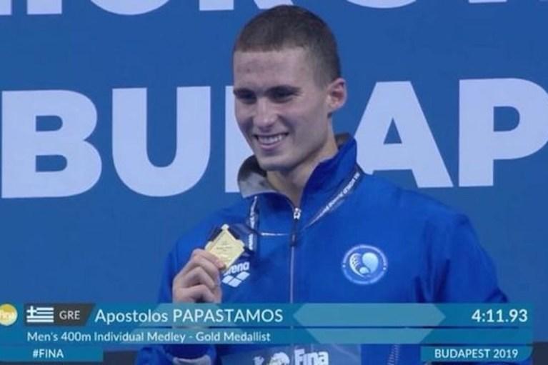 Συγχαρητήρια του Στ.Αρναουτάκη στον Απ. Παπαστάμο για το χρυσό