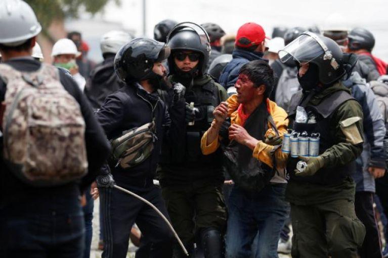 Βολιβία : Συνεχίζονται οι κινητοποιήσεις, παρά την παραίτηση του Μοράλες