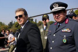 Έφτασαν στην Κρήτη ο Μ. Χρυσοχοΐδης και ο Μ. Καραμαλάκης
