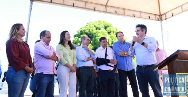 Em 2018, adutora foi inaugurada, mas nunca funcionou (Foto: Assessoria/Ciro Nogueira)