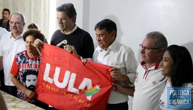 Haddad cumpre agenda política no Piauí (Foto: Gustavo Almeida/PoliticaDinamica.com)