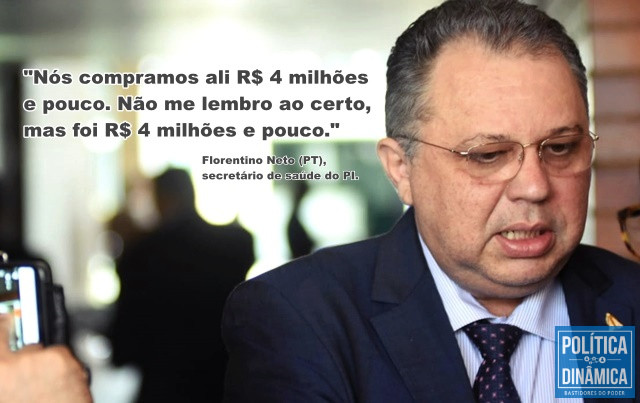 Florentino admite que Piauí repassou recursos ao CN (Foto: Jailson Soares/PoliticaDinamica)