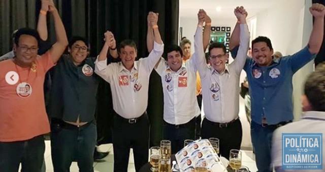 Os ricos bem novinhos do governo do Estado também deram sua contribuição à campanha de Wellington (foto: Instagram)