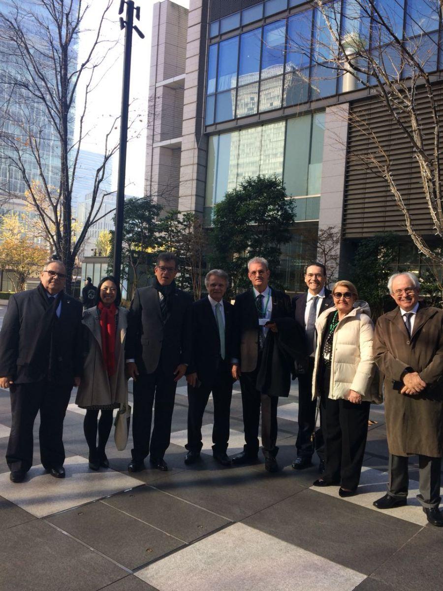Rômulo Gouveia representa o Brasil em missão oficial no Japão
