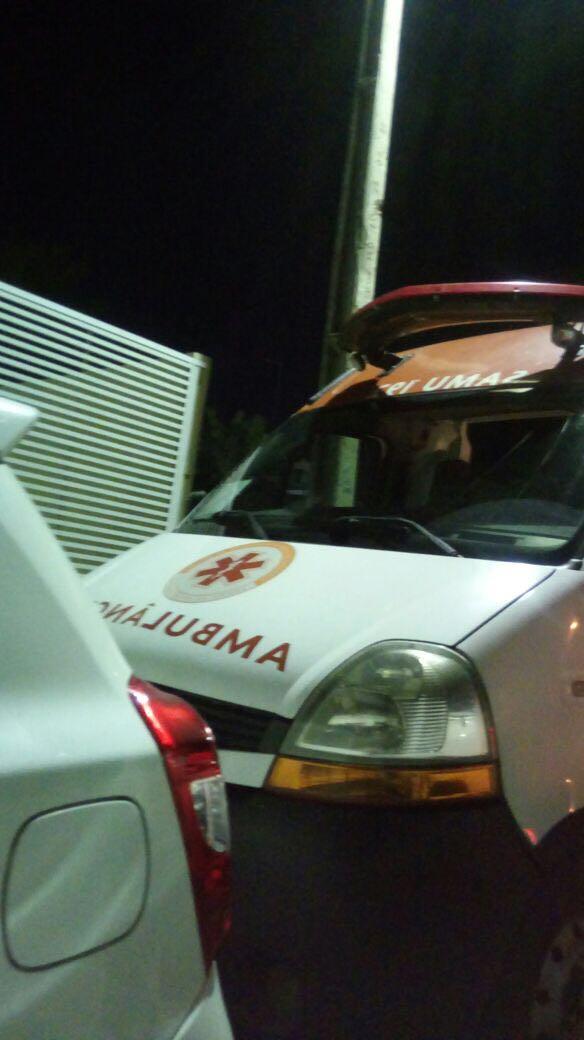 Equipe abandona Samu e leva ambulância para comemorar aniversário de coordenadora em Mamanguape
