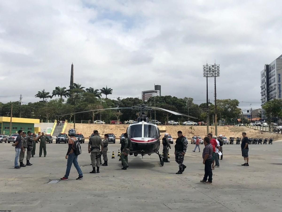 Bruno destaca aumento da violência na região de Campina Grande e lamenta pirotecnia com entrega de helicóptero