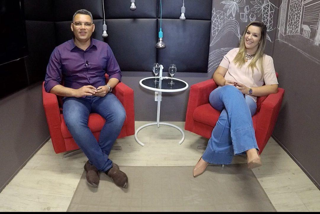 VÍDEO ENTREVISTA: Camila Toscano fala sobre relacionamento com João Azevedo, futuro de Cássio, eleição da ALPB e de Guarabira
