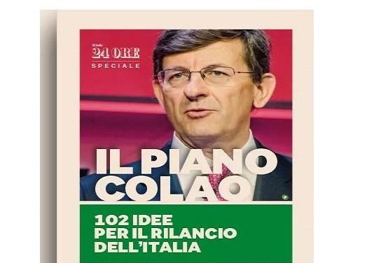 Colao: Piano organico o lista della spesa?- di Daniele Ciravegna