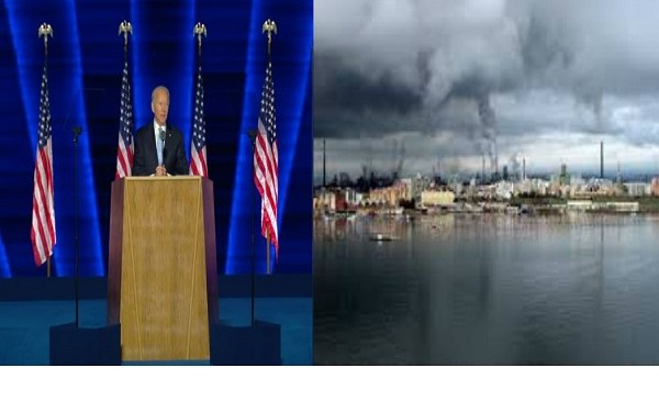 Joe Biden: non c'è da perdere tempo sul cambiamento climatico