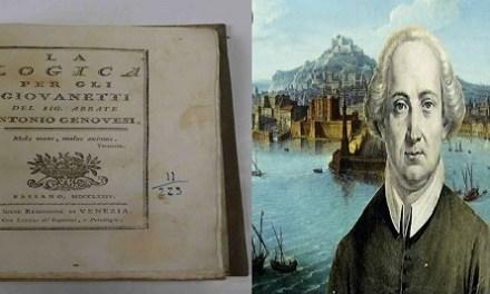 """Antonio Genovesi e la """"logica del bene comune"""""""