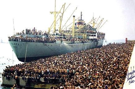 A trent'anni dalla nave Vlora- di Giuseppe Sacco