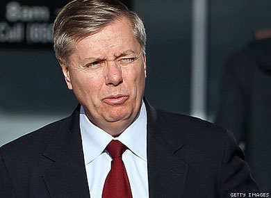 Sen. Lindsey Graham really does look like a developing fetus.