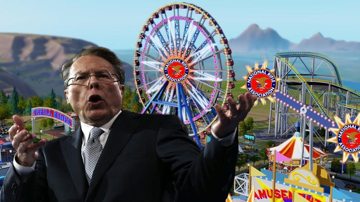 "NRA to Open  Virginia ""Gun Land"" Amusement Park for Kids"