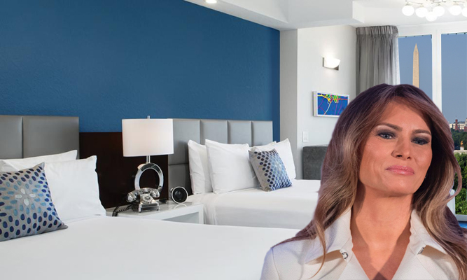 Melania Asks for Separate Beds in White House Master Bedroom | The ...