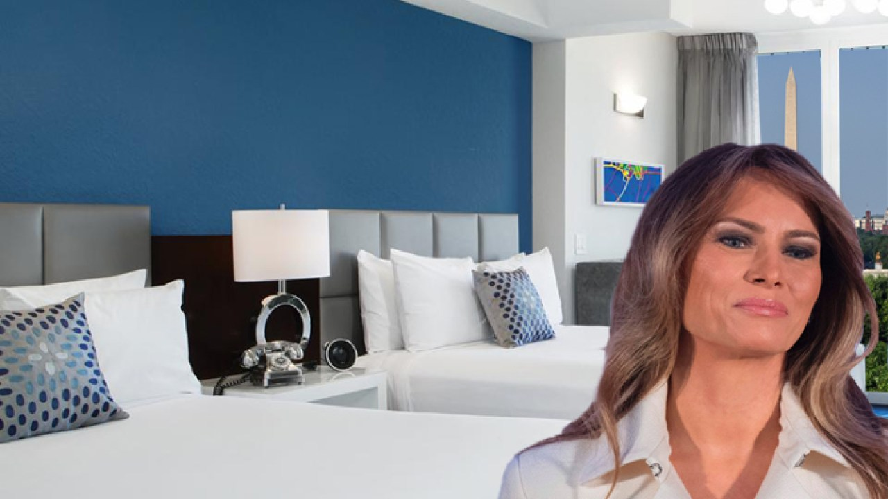 Melania Asks for Separate Beds in White House Master Bedroom ...