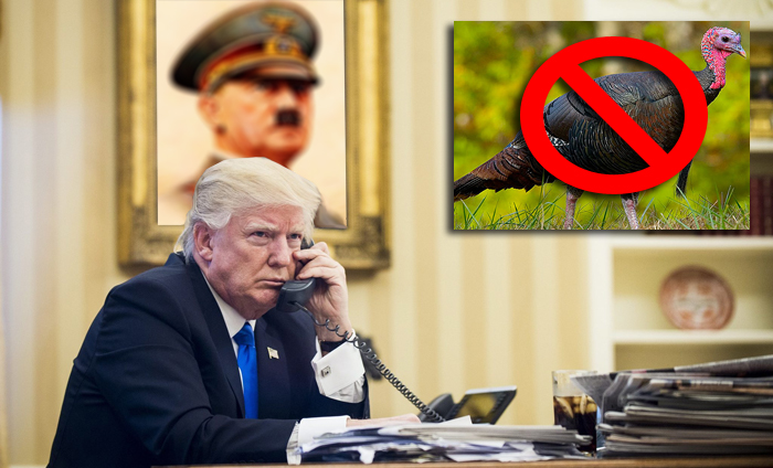 Trump Will Only Pardon Turkey That Voted For Him