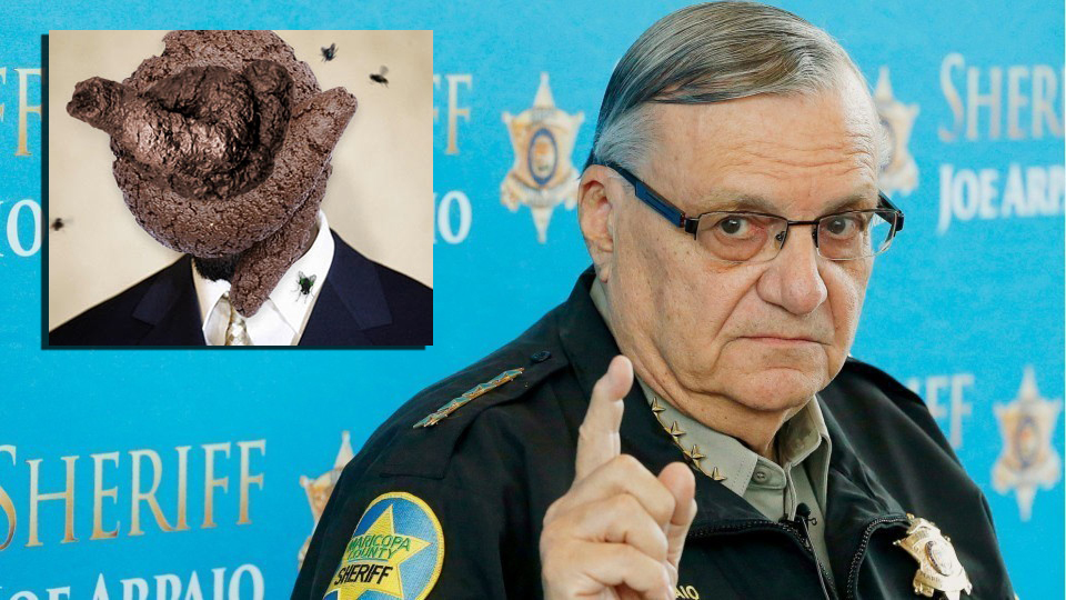 Literal Piece Of Shit Considers Challenging Arpaio For AZ Senate Seate