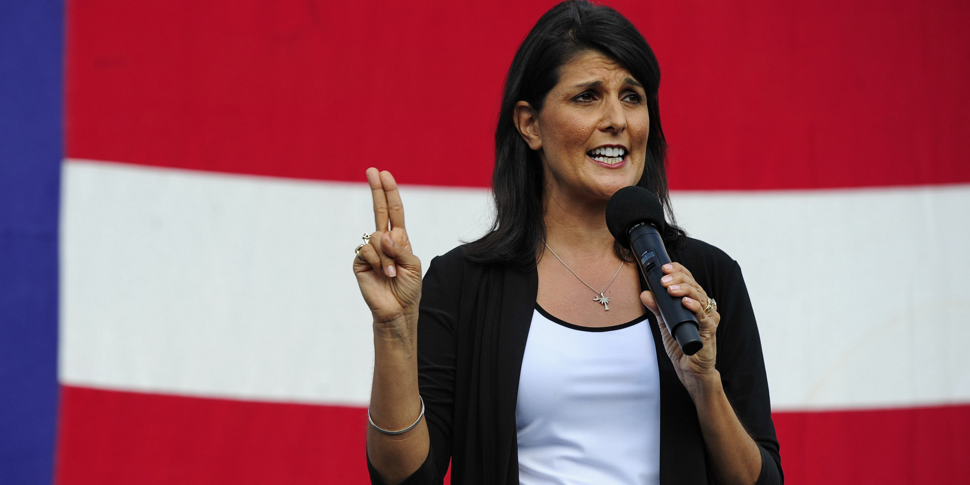 Report: Nikki Haley Lives in Opposite Land Where Trump Tells the Truth and She's Smart
