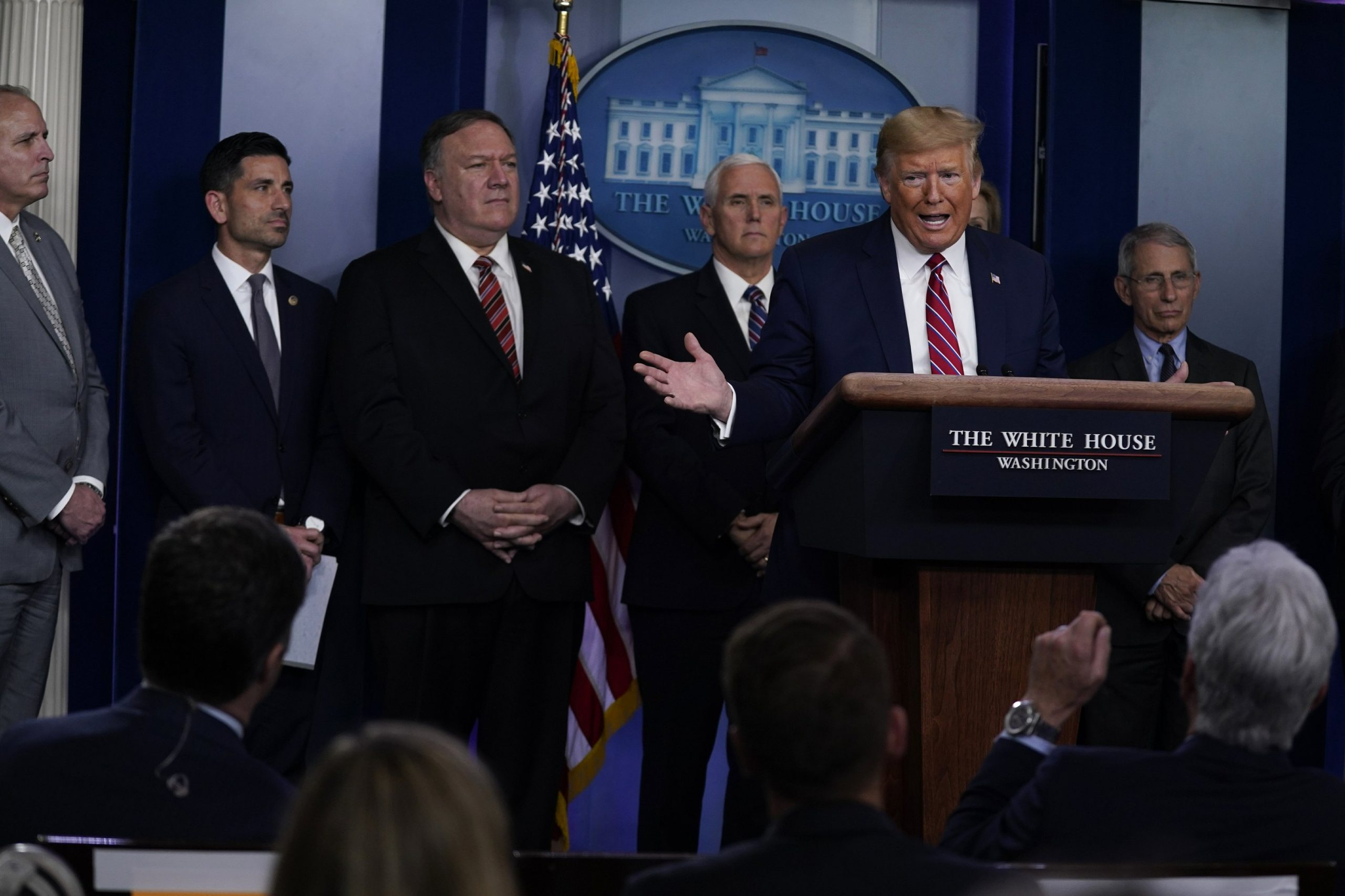 Trump: Governors Who Give Him State's Electoral College Votes Get 'Anything They Need' to Fight COVID-19