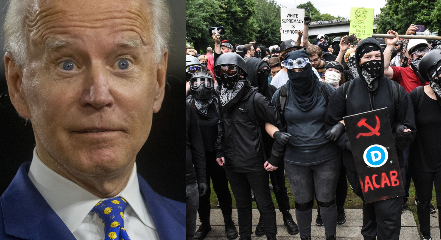 Biden Plans to Deploy Official Democrat Antifa Squads In the Event of Post-Election Civil Unrest