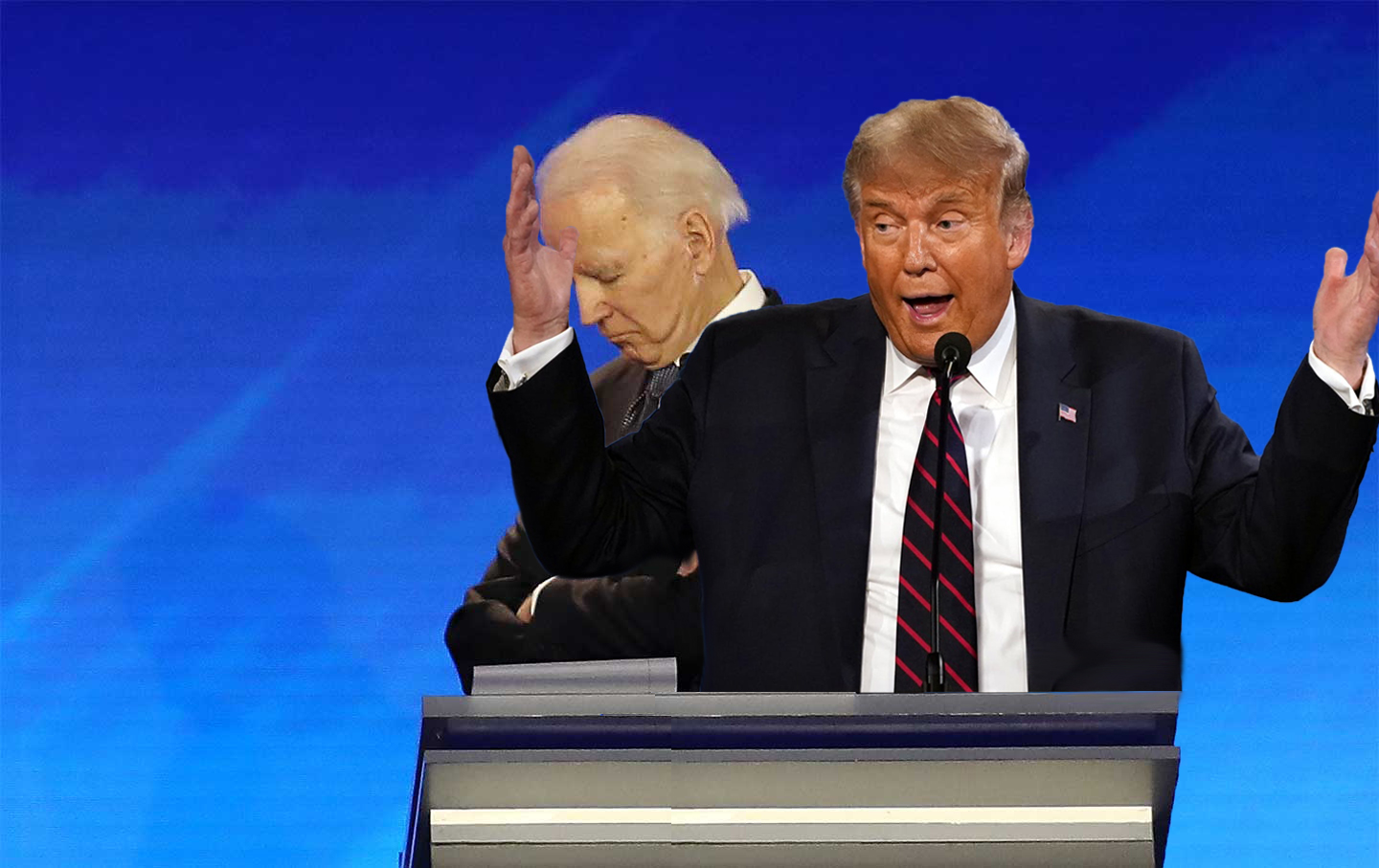 To Sidestep Having His Mic Cut, Trump Plans to Share Biden's Podium