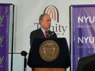 Mayor-Bloomberg-at-160-Varick-St