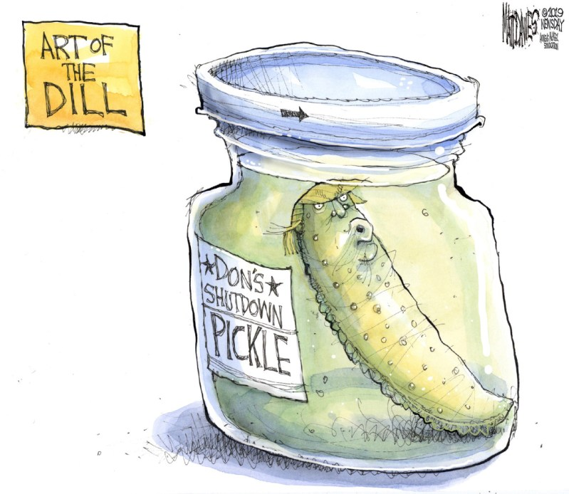In a Shutdown Pickle