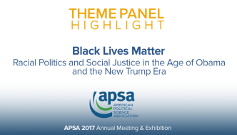 Theme Panel: Black Lives Matter
