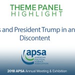Theme Panel: Congress and President Trump in an Age of Discontent