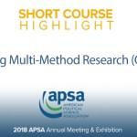 Short Course: Designing Multi-Method Research (QMMR1)
