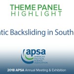 Theme Panel: Democratic Backsliding in Southeast Asia