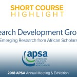 Research Development Group: Emerging Research from African scholars