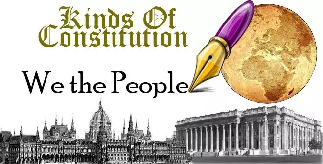 Kinds Of Constitutions